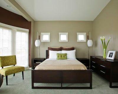Brown Painted Bedroom Furniture
