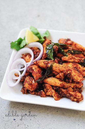 Chicken Majestic - Andhra Style Indian Chicken Starter Recipe