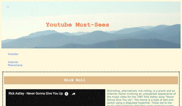 Jessica's Youtube Portal