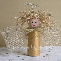 Craft Projects Using Wine Corks | Free Kids Crafts - Angel Crafts