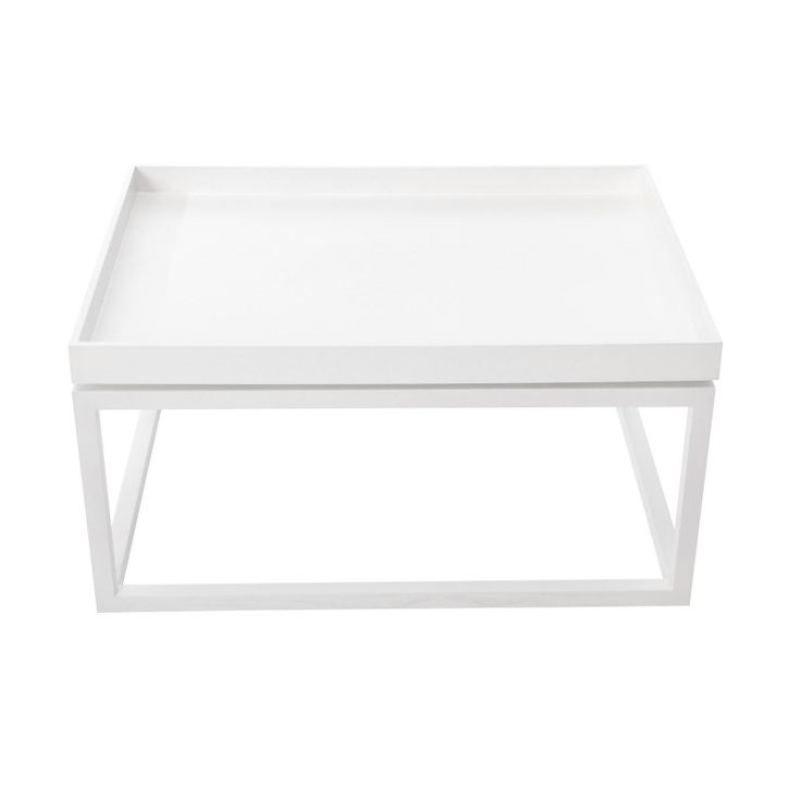 TIP Sofa Table White Stolik - NORR11 - DECORTIS.COM