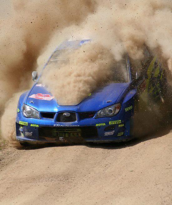 Suabru Impreza WRC rally car Simplemente imposible manejar