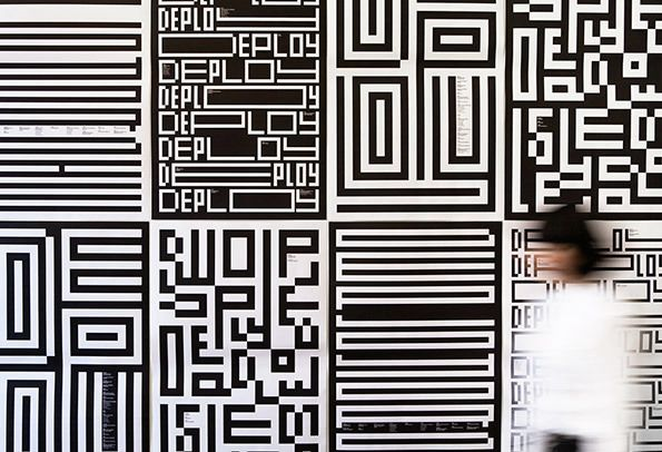 Pentagram: MIT Media lab identity