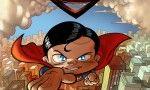 """""""Cabezón de acero"""" de Enrique Vegas. ¿Es un pájaro? ¿Es un avión?… ¡No! ¿Es Superman? Pues… ¡tampoco! Es el Cabezón de Acero. Del único, el genuino, el inimitable. EL CABEZÓN DE ACERO es la personal visión, para toda la familia y en clave de humor, de SUPERMAN, en un momento en el que vuelve a estar completamente de actualidad (aún más si cabe) por la inminente nueva adaptación a la pantalla, ahora con el visionario Zack Snyder a la cabeza del proyecto. Signatura: C VEG cab"""