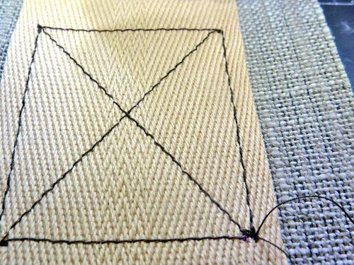 """How To Sew A Perfect """"X"""" Box 