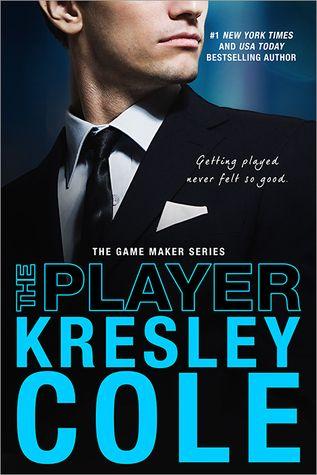 The Player by Kresley Cole (The Game Maker Series #3)  Sensuality oozes off the pages in the hot as heck erotic romance by Kresley Cole.  http://tometender.blogspot.com/2016/04/the-player-by-kresley-cole-game-maker.html