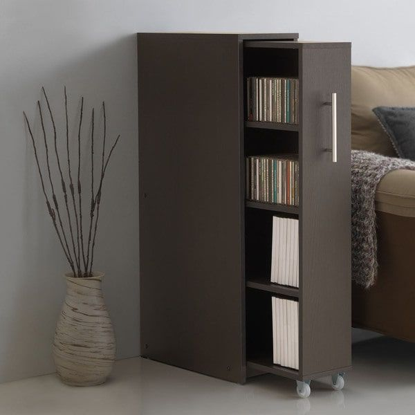 Sideways bookcase...good for magazines, maybe?