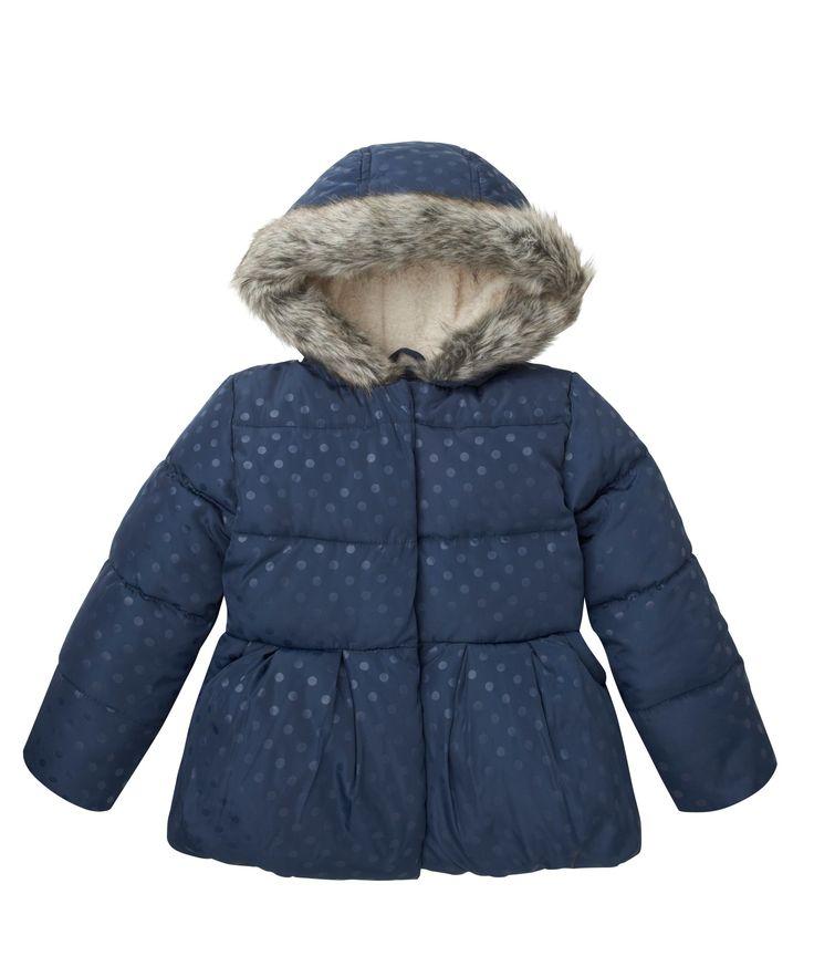 Dobby Peplum Coat