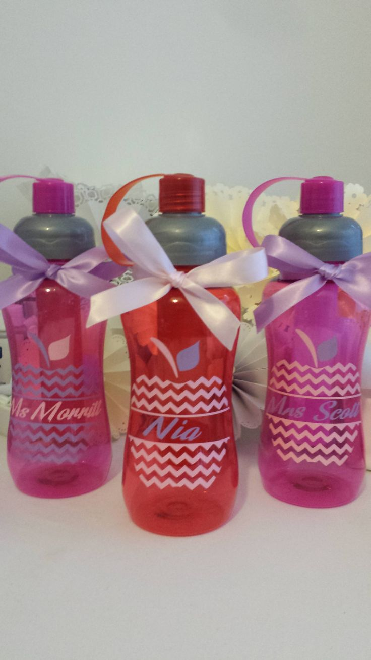 Personalised Water Bottle by Allthingssweet2017 on Etsy