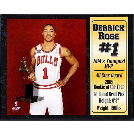 NBA Derrick Rose Stat Plaque, 12x15
