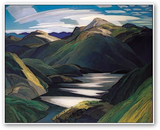 by Franklin Carmichael (1890-1945) who was the youngest member of the original Canadian Group of Seven