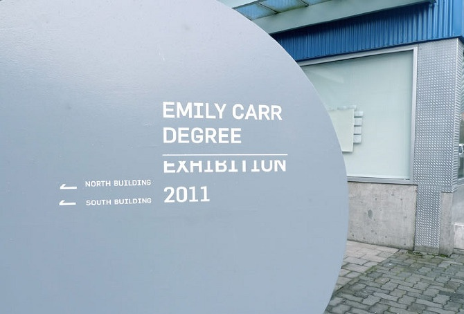 Emily Carr 2011 Degree Exhibition & Catalogue