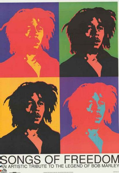 Bob Marley Pop Art Poster 25x35 – BananaRoad