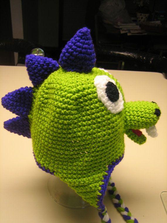 Dinosaur/Dragon hat. Custom Order Newborn through Adult sur Etsy, $25.31 CAD