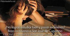 A San José de Cupertino se le invoca como protector de los estudiantes. Él Intercede por los que tienen mucha dificultad en los estudios
