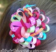 Free Homemade Hair Bows Instructions - Bing Images