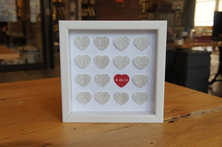 #DIY Valentine's Day Ideas Shadow Box