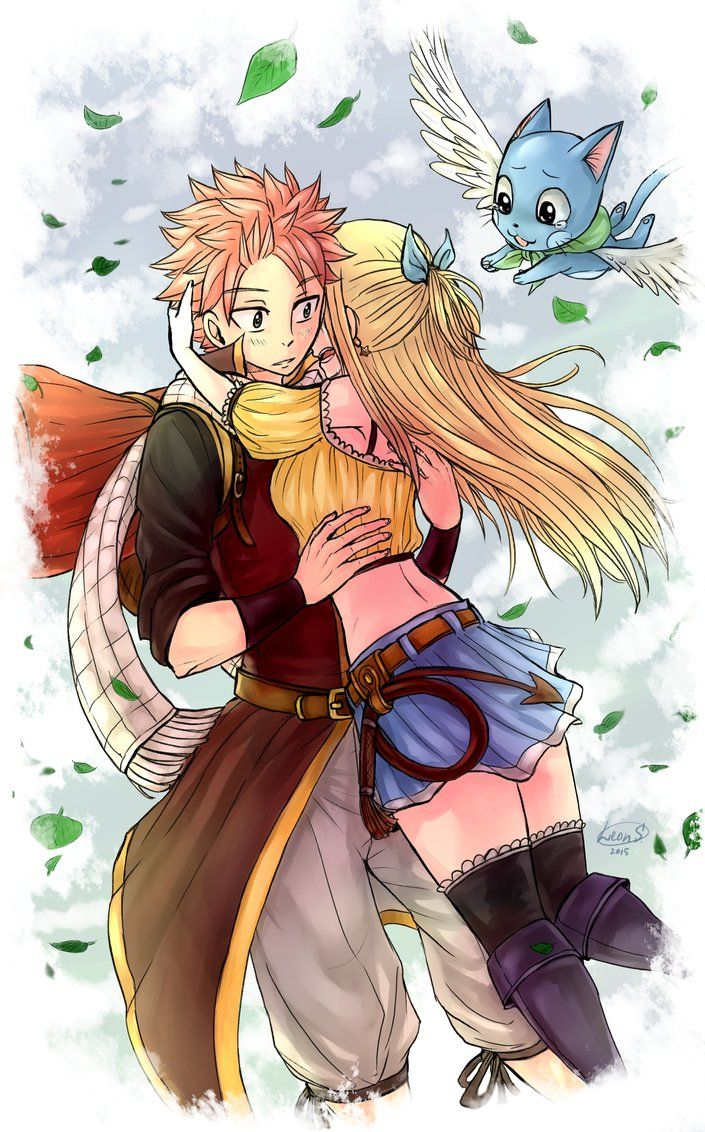 A year later [NaLu] by LeonS-7 on DeviantArt