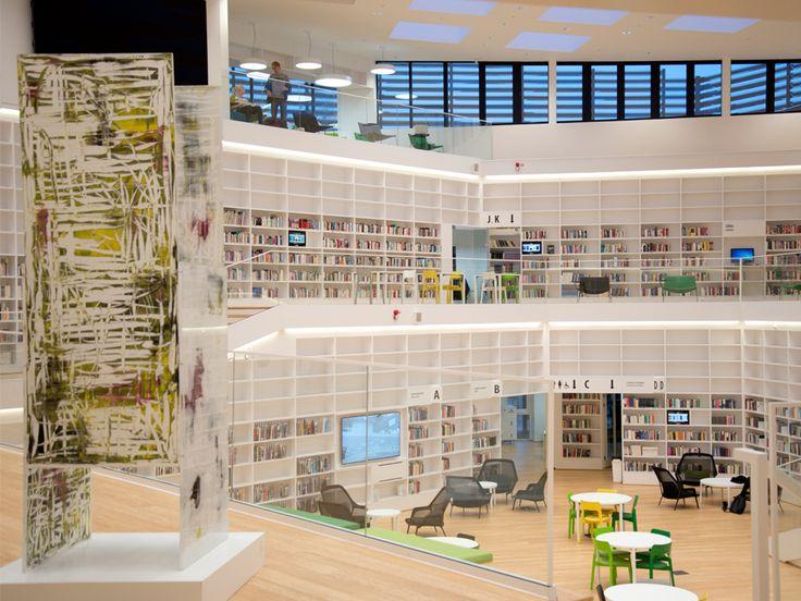 Biblioteket vid Högskolan Dalarna i Falun