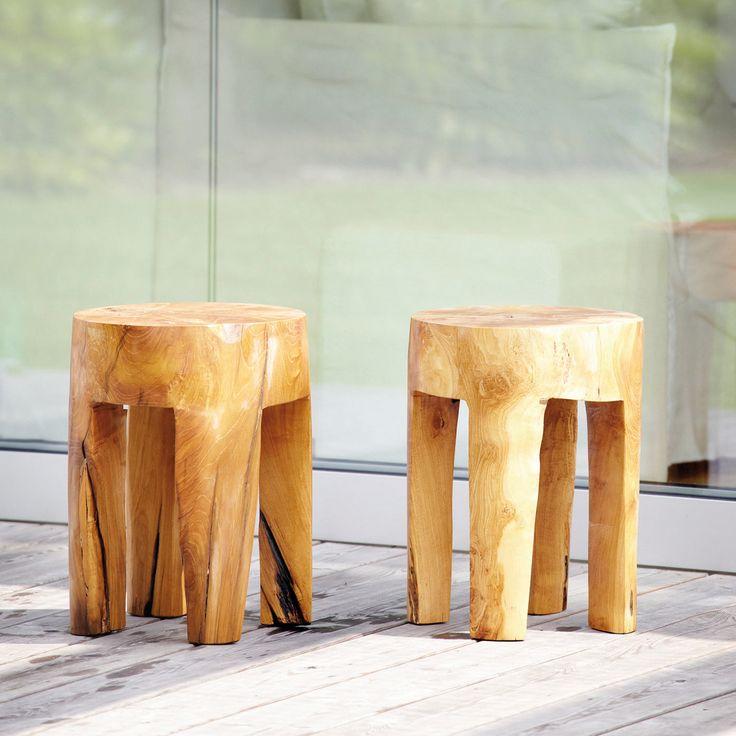 JAVA HOCKER, RUND, UNIKAT Der Java Hocker von Jan Kurtz ist ein Traum jedes Holz-Liebhabers. Seine urwüchsige Form strahlt Ruhe und Erhabenheit aus.