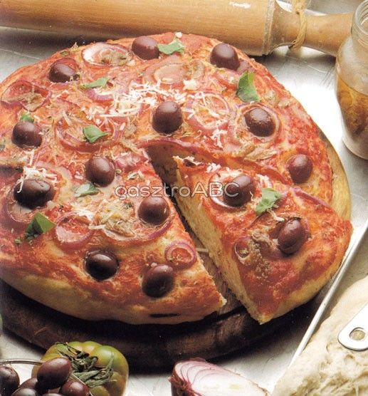 Vastag pizza | Receptek