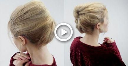 Haircut Styles For Women Long Hair | Party Updos For Long Hair | Simple Formal Updos 20190921