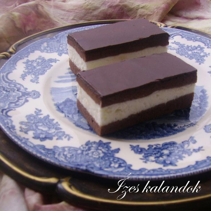 Ízes kalandok: Mézes-tejszínes csokoládés szelet (Kinder szelet)