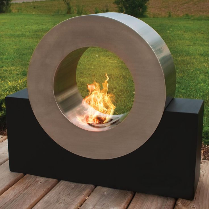 coolest outdoor firepit ever!