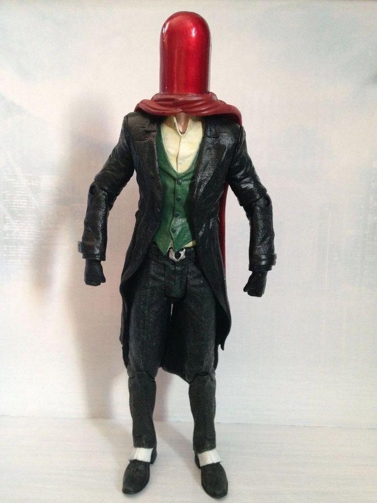 Joker as Red Hood Figure Loose Batman Arkham Origins Set DC Collectibles L67