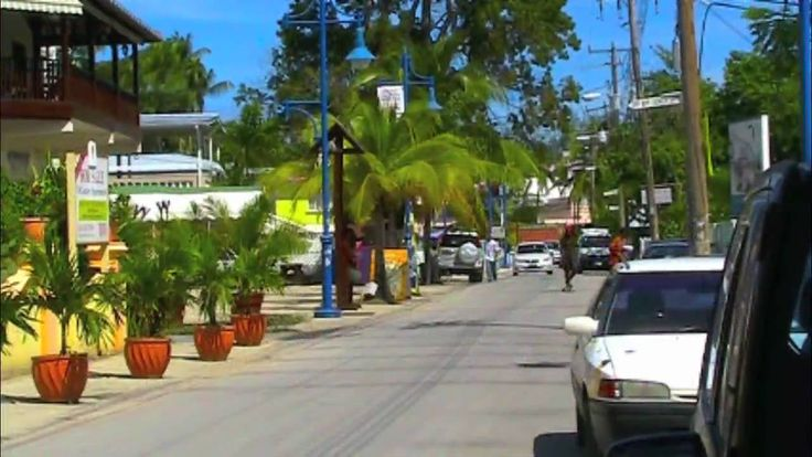 St. Lawrence Gap Area in Christ Church, Barbados