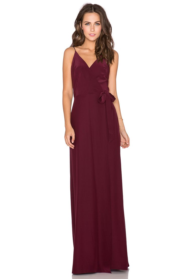51 best bridesmaids xx images on pinterest wedding bridesmaids shop for amanda uprichard alexandria maxi dress in wine at revolve free day shipping and returns 30 day price match guarantee ombrellifo Choice Image