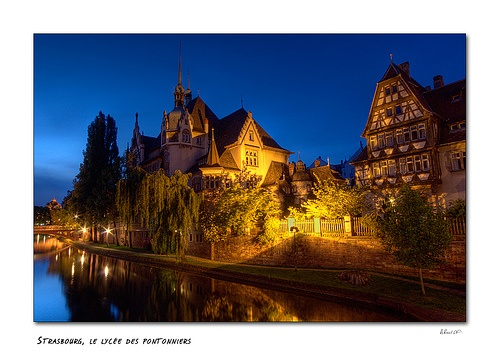 Strasbourg lycée des Pontonniers by Alain Rueff, via Flickr