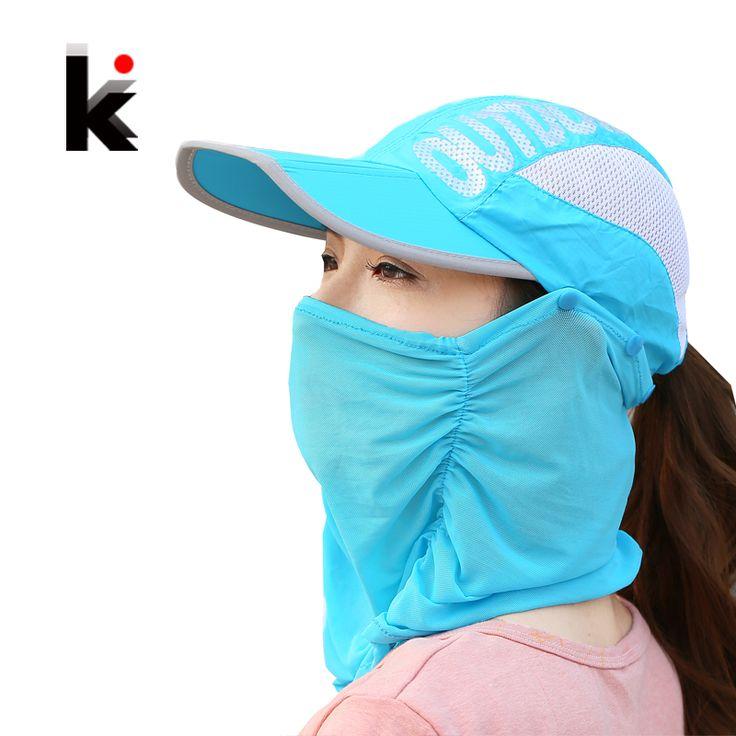 Summer Visor Women Hat  Folded Cap Summer Hats For Women With Neck Protection Baseball Cap For Men Snapback Hat