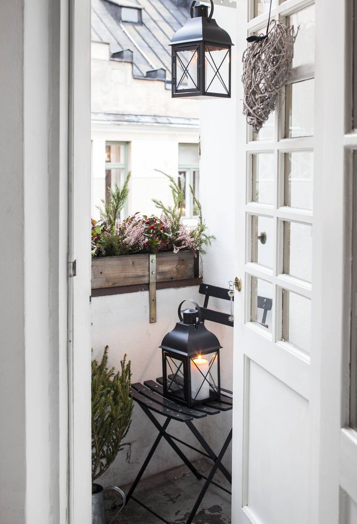 330 best Balcony(scandinavian) images on Pinterest | Small balconies ...