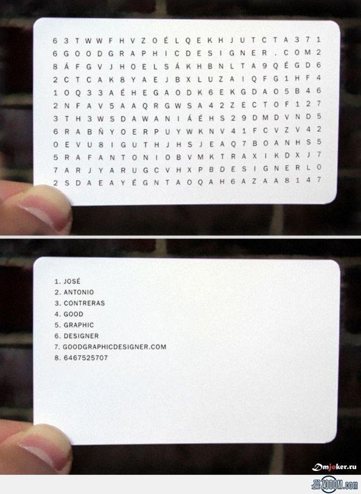 Good Graphic Designer Business Card