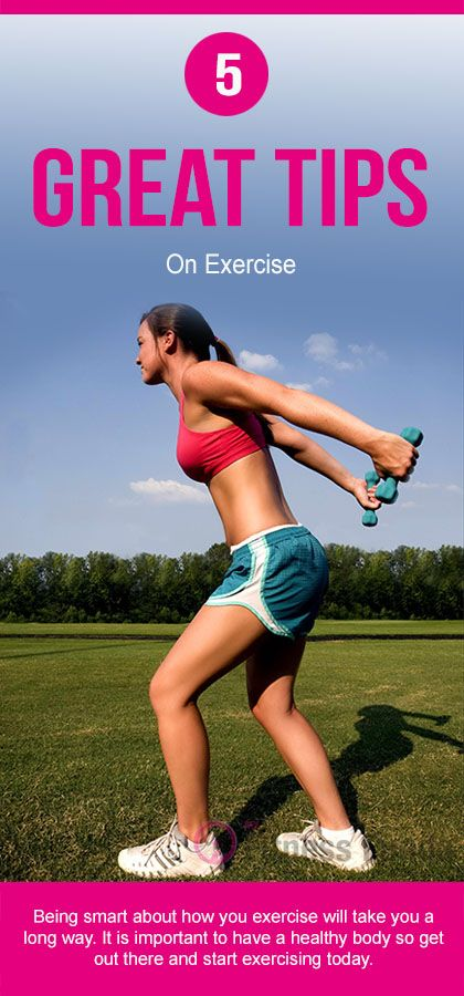 5 Great Tips On Exercise : #fitness #fitness_tips #exercise #workout_plans #weight_loss