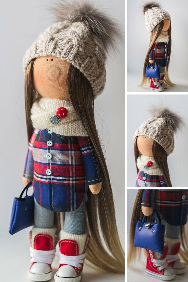 Tilda doll, Rag doll, Baby doll, Decor doll handmade