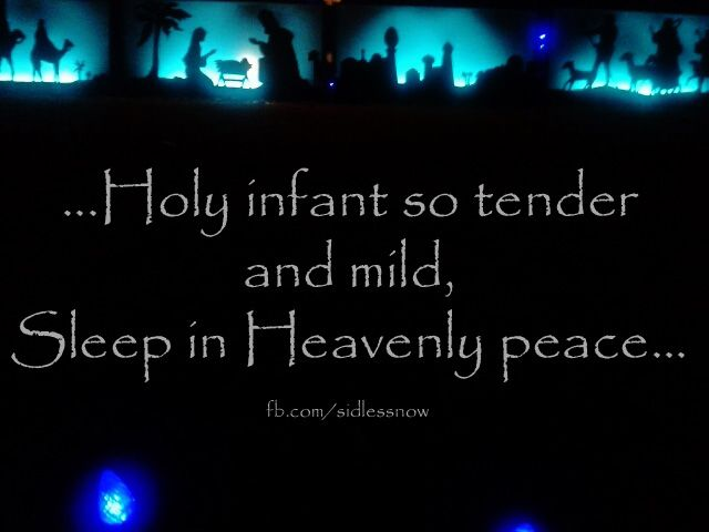Sleep in Heavenly peace quote.  SIDS awareness infant loss