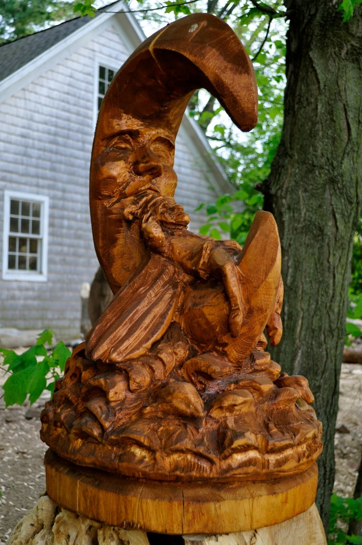 Best images about tree carvings on pinterest chainsaw