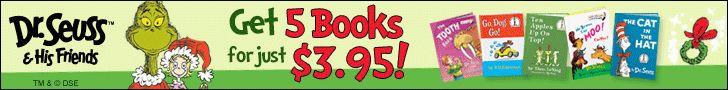 Mrs. Robinson Writes: Dr. Seuss & His Friends book club
