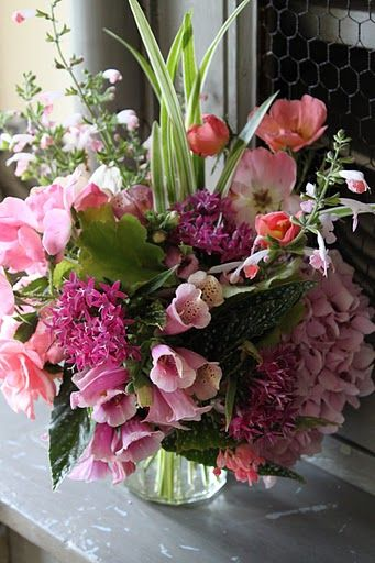 597 best flowers arranged in vases, cups, boxes, bowls, etc