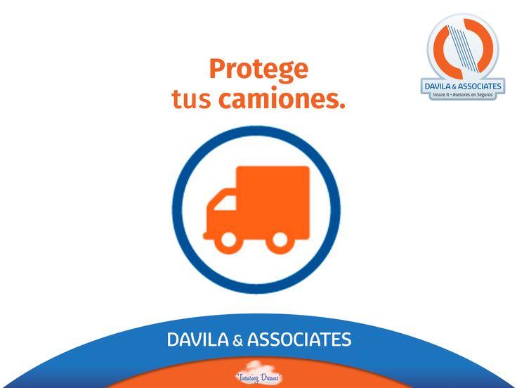 Protégelos contra accidentes o robos inesperados. #segurodecamiones #seguro #autos #camiones #segurosdavila #contigo #asesoresdeseguros #mexico