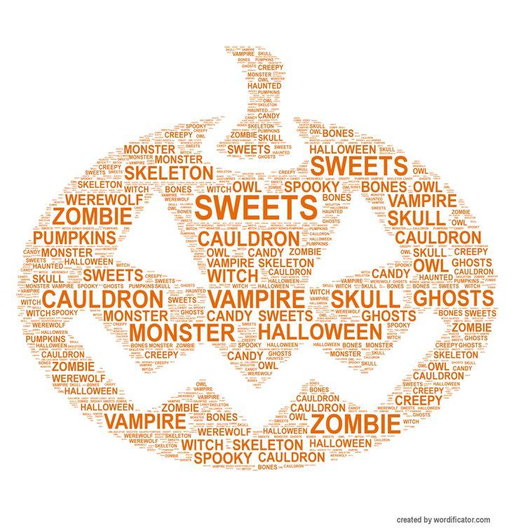 Happy Halloween! #halloween #pumpkin #wordificator #wordart