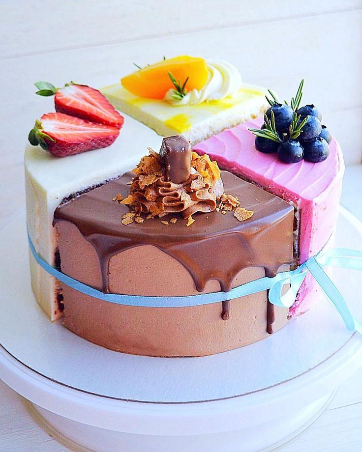 красивая картинка торта четвертинки все