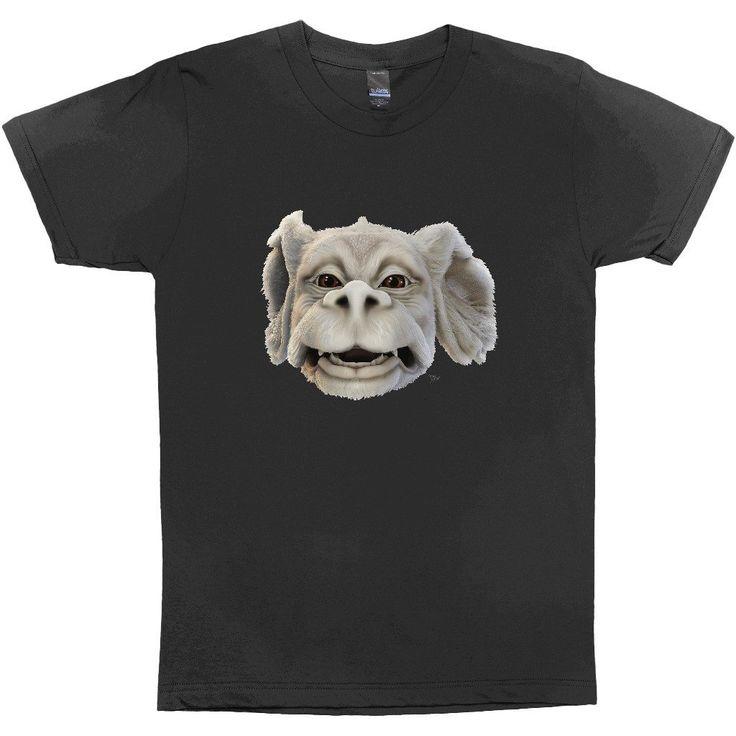"""Happy Falkor"" Black T-shirt"