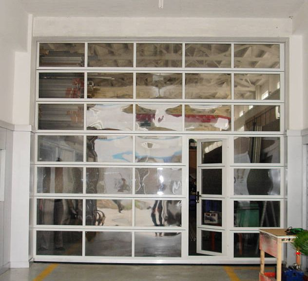 Glass garage doors instead of french doors to open up to for French patio doors both open