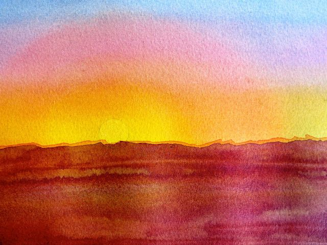 Easy watercolor paintings for beginners and for Easy watercolor for beginners