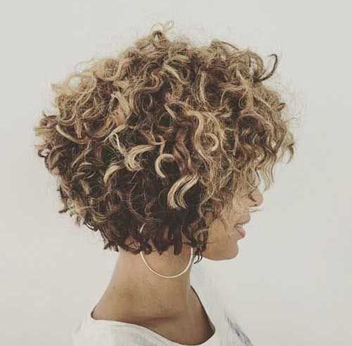 Really Pretty Short Curly Hairstyles for Women | The Best Short Hairstyles for Women 2016
