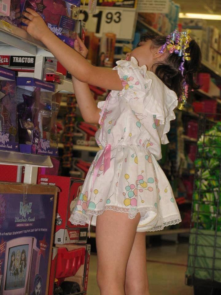Lost bet wear pantyhose-7368