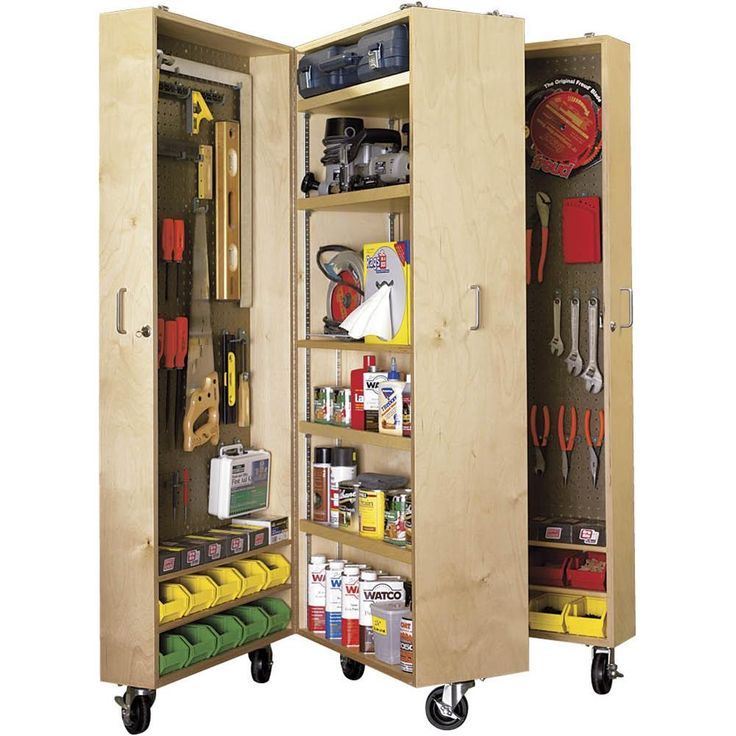 Mobile Tool Cabinet - Plans | Grizzly Industrial